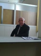Zeynal Asgerov, 62, Azerbaijan, Baku