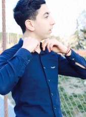 Ahmet Can, 21, Turkey, Istanbul