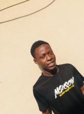 abayomi, 20, Nigeria, Lagos