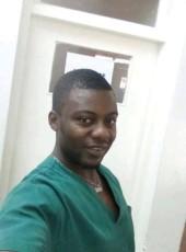 Justin Benjami, 30, Cameroon, Yaounde