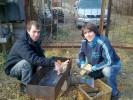 Андрей, 34 - Just Me С другом на шашлыках, я слева...