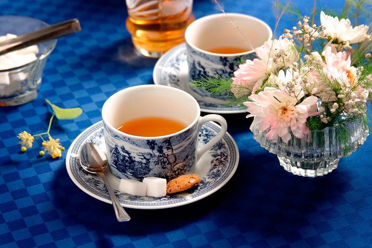 Открытка чай для двоих