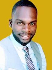 John, 31, Congo, Lubumbashi