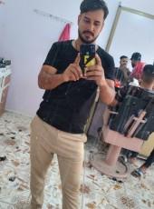 Muntadher Mohamm, 25, Iraq, Karbala