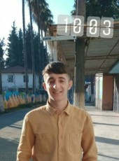 Servet, 19, Turkey, Pinarbasi (Kayseri)
