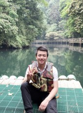 邓, 27, China, Guilin