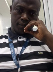 Wisdom Gbeword, 49, Ghana, Accra