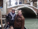 С Рикардо - гондольером , который нас катал