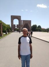 Ashot Mirzoyan, 65, Armenia, Yerevan