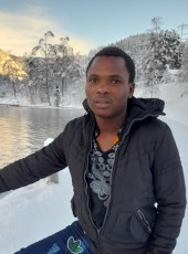 Moses Zabayo , 22, Norway, Drammen