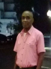 Ulysses, 55, Barbados, Bridgetown