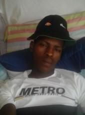Mthokozisi Mdlul, 24, South Africa, Pietermaritzburg