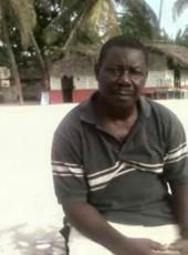 Jean Claude, 64, Haiti, Jacmel
