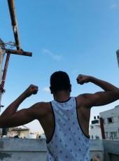 Abdallah , 18, Palestine, Gaza
