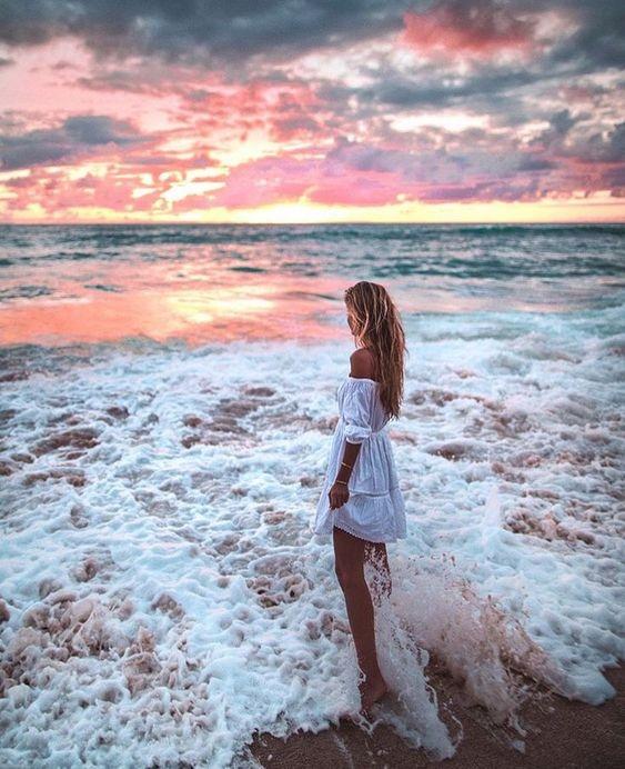 как фотографироваться на фоне моря федорова пожалуй