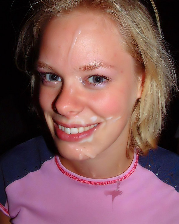 German teen facial — pic 15