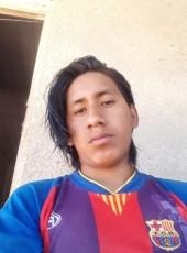 Miguel, 20, Bolivia, La Paz