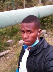 Ibrahim Peter, 25, Kenya, Athi River
