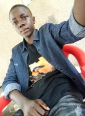 Patrick, 19, Congo, Goma