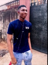 Uchenna, 18, Nigeria, Lagos